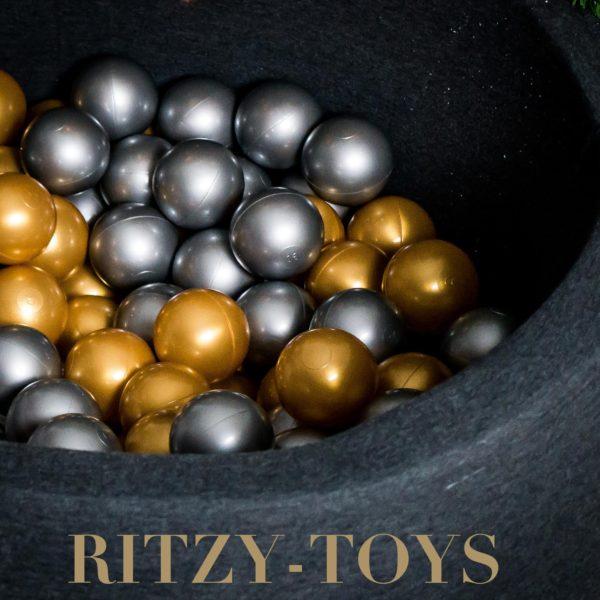 Ballenbak goud-zilver